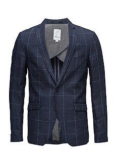 Checked blazer - BLUE CHECKED
