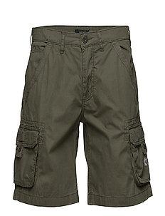 Cargo shorts - JUNGLE GREEN