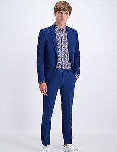 Plain mens suit - yksiriviset puvut - blue