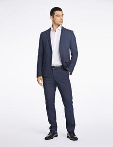 Plain mens suit - yksiriviset puvut - navy