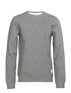 Bonded sweatshirt - DK GREY MEL
