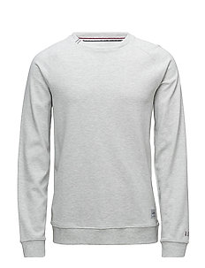 Basic raglan sweat - GREY MEL