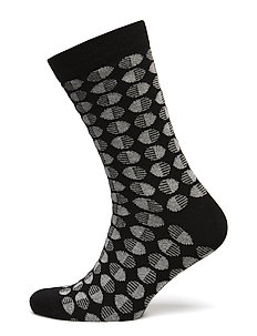 Circle socks - BLACK