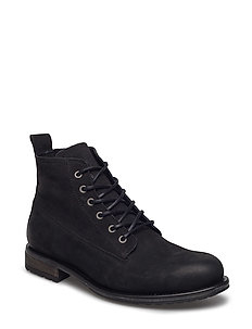Lace boot - BLACK