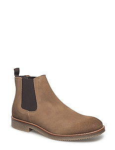 Suede Chelsea boot - BROWN