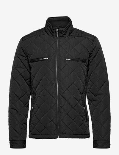 Quilted jacket - gewatteerd jassen - black