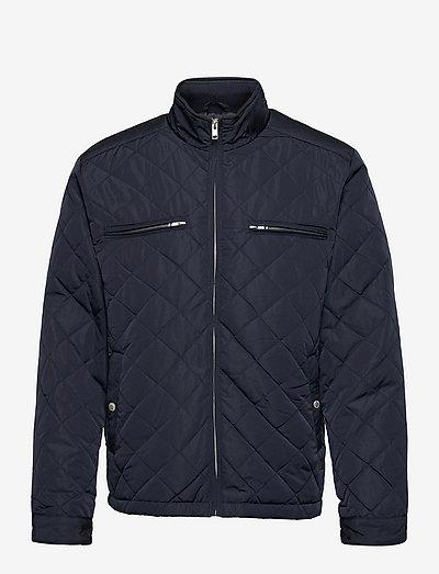 Quilted jacket - pikowana - navy