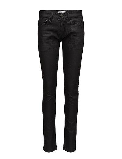 Mens 5pocket stretch jeans - BLACK