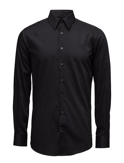 Basic Shirt L/S - BLACK