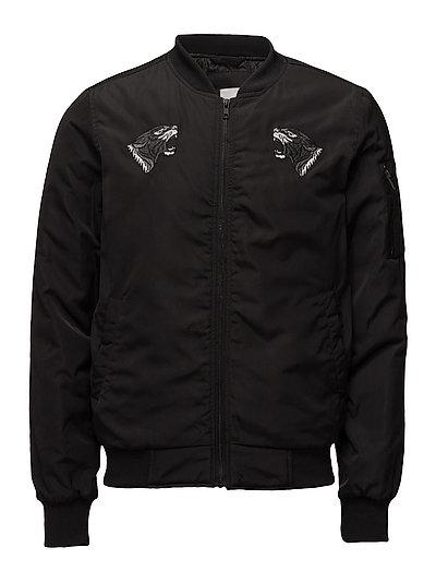 Shortbomberjacket - BLACK