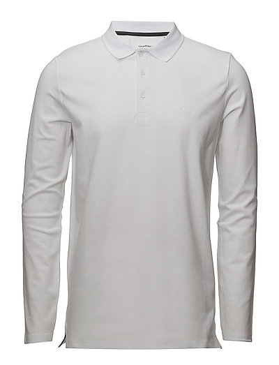 Polo shirt w. stretch - WHITE