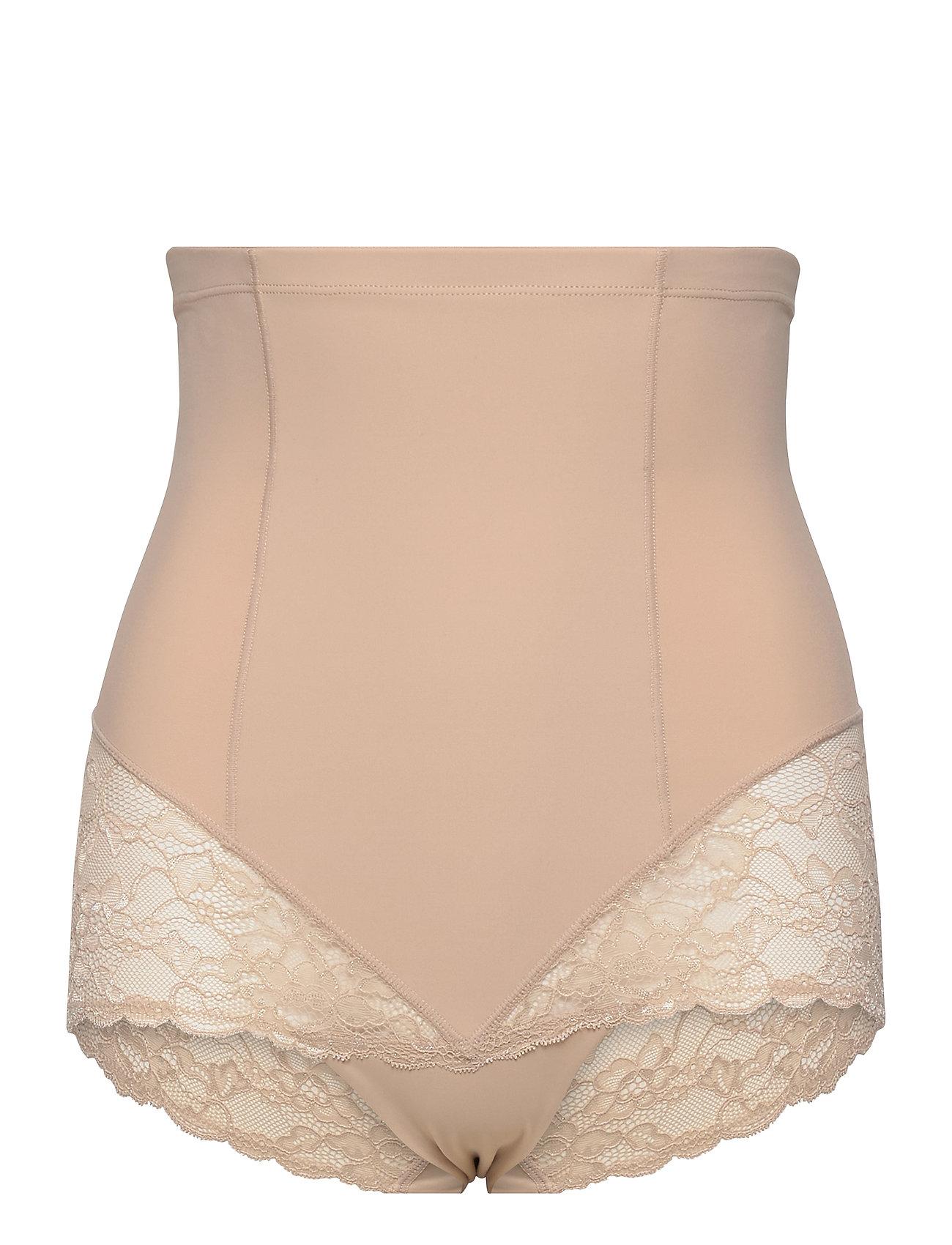 Girdle Highwaist Kim Lace Lingerie Shapewear Bottoms Beige Lindex