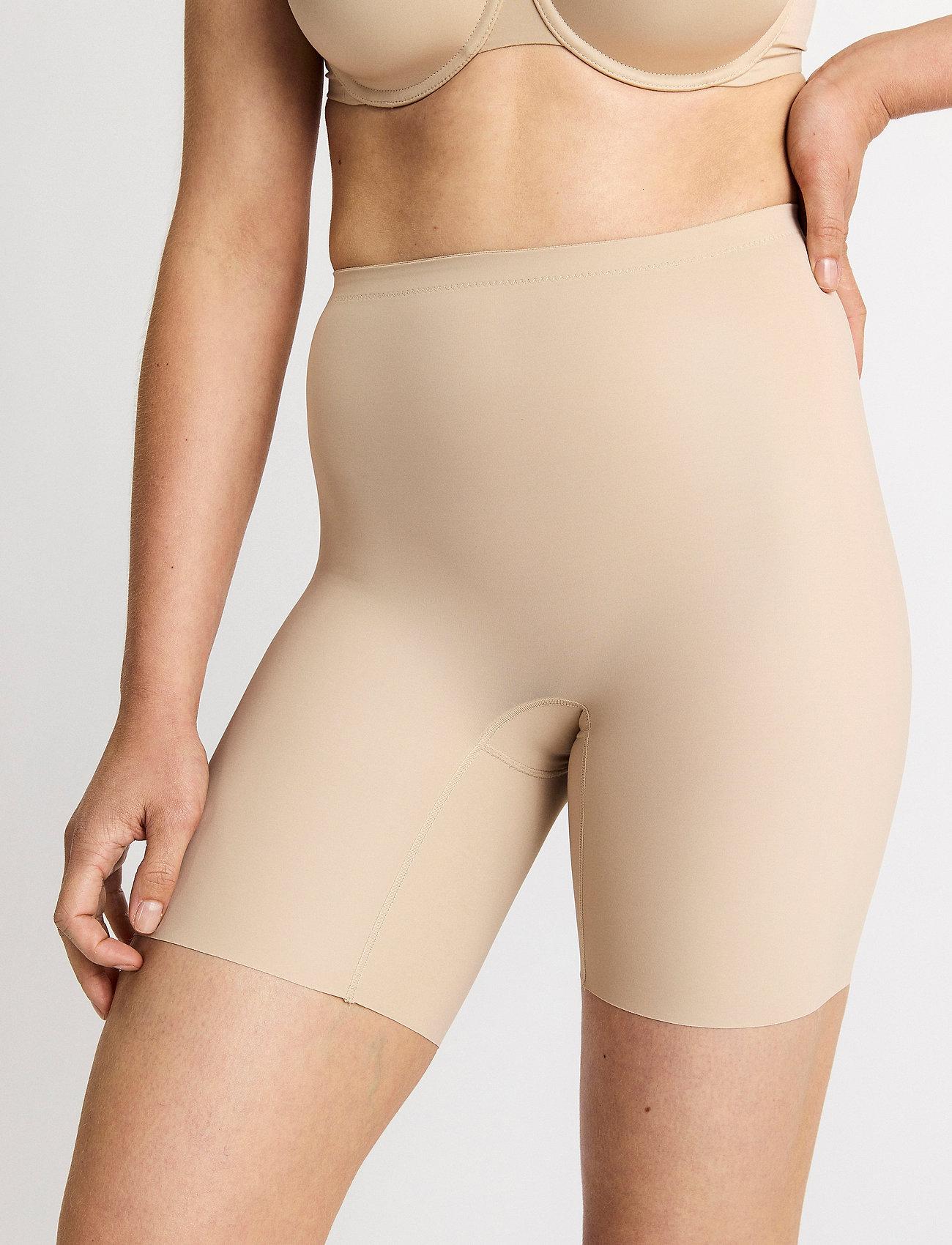 Lindex - Girdle Biker Janelle - bottoms - beige - 0