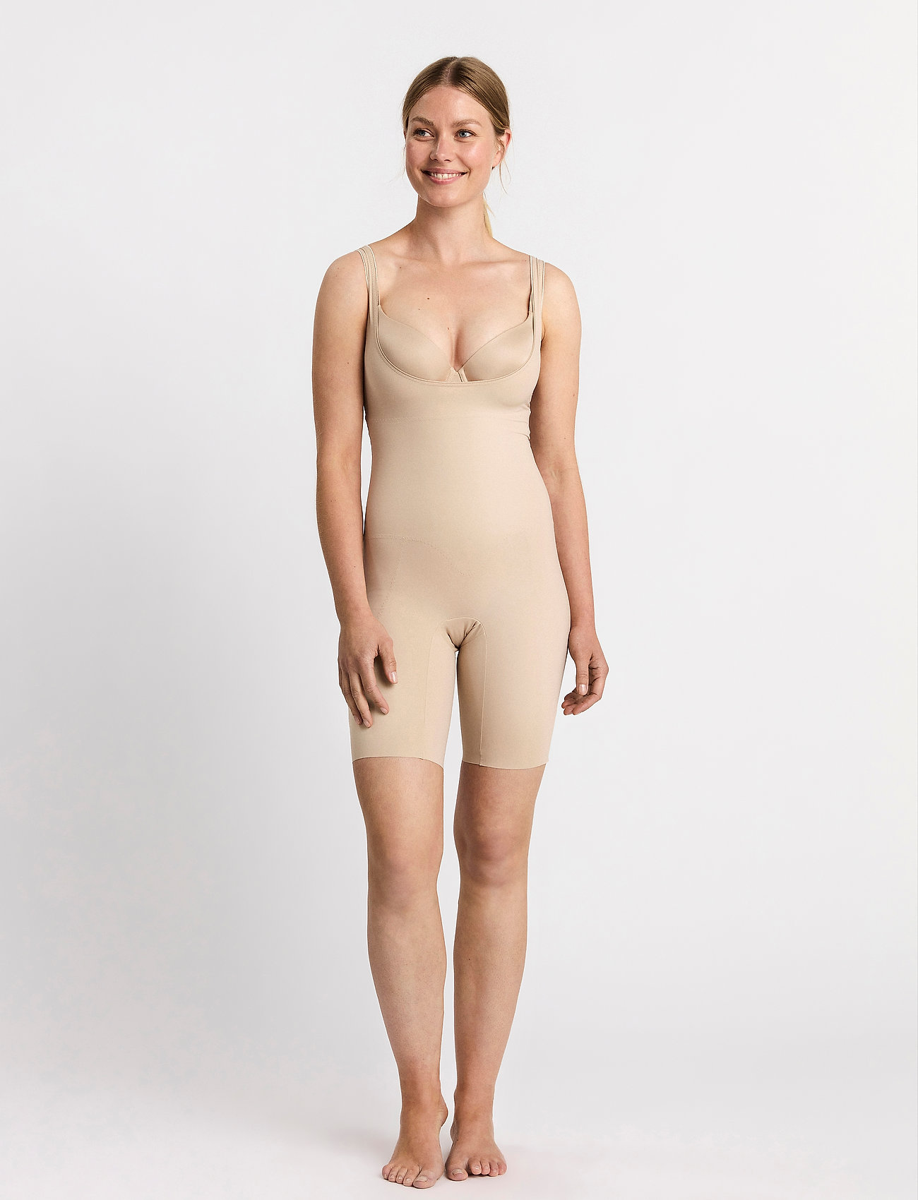 Lindex - Shaping Bodysuit Lana Legs - bottoms - beige - 0