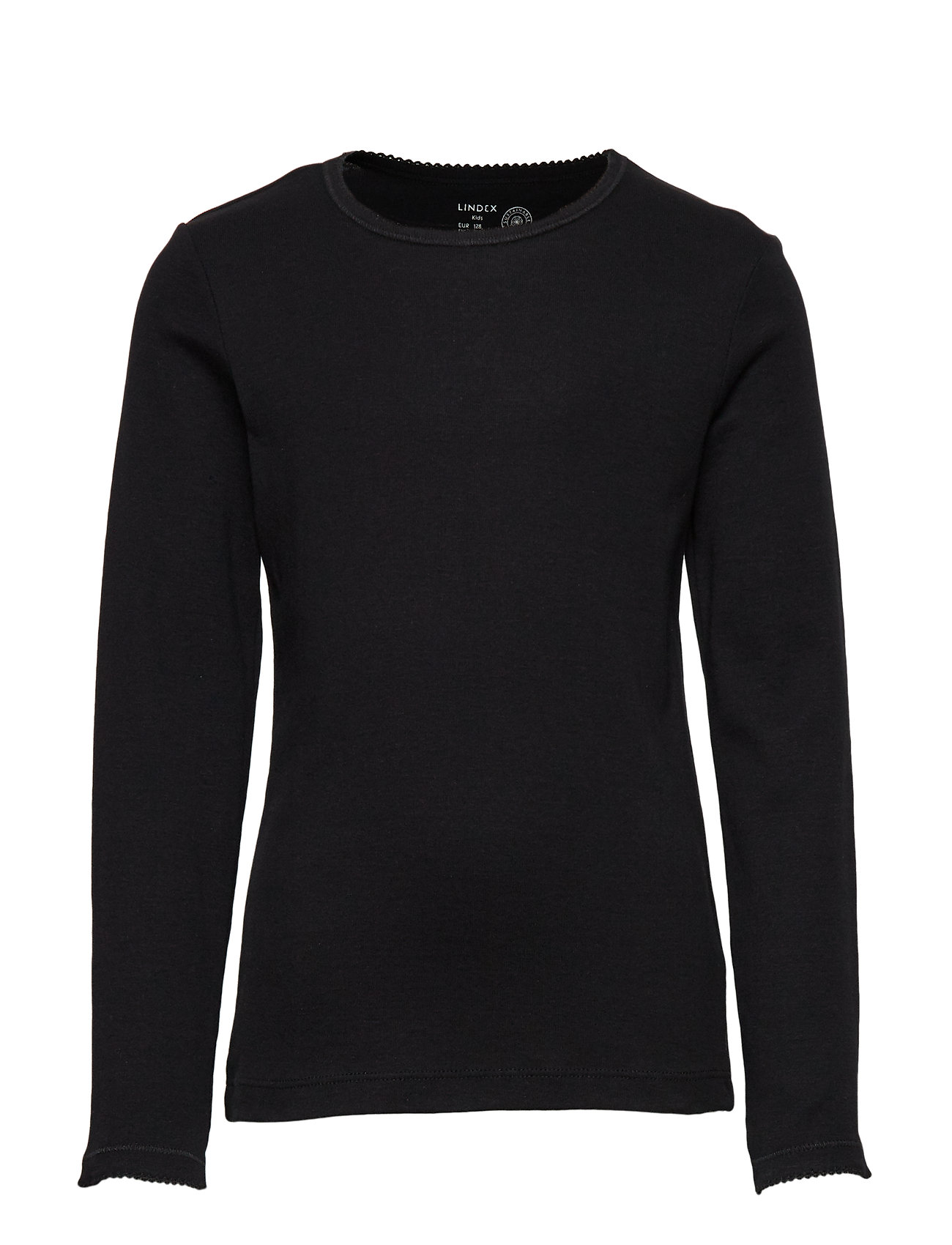Lindex Long Sleeve Top - BLACK