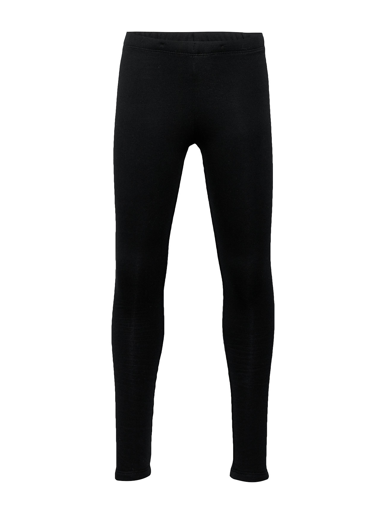 Lindex Leggings basic solid - BLACK