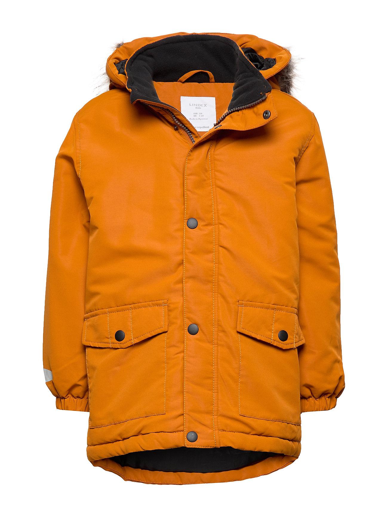 Lindex Padded jacket - LT BROWN