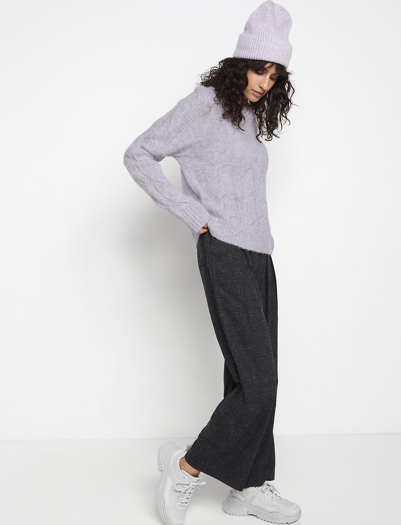 Sweater Hilma (Light Lilac) (349.30 kr) - Lindex