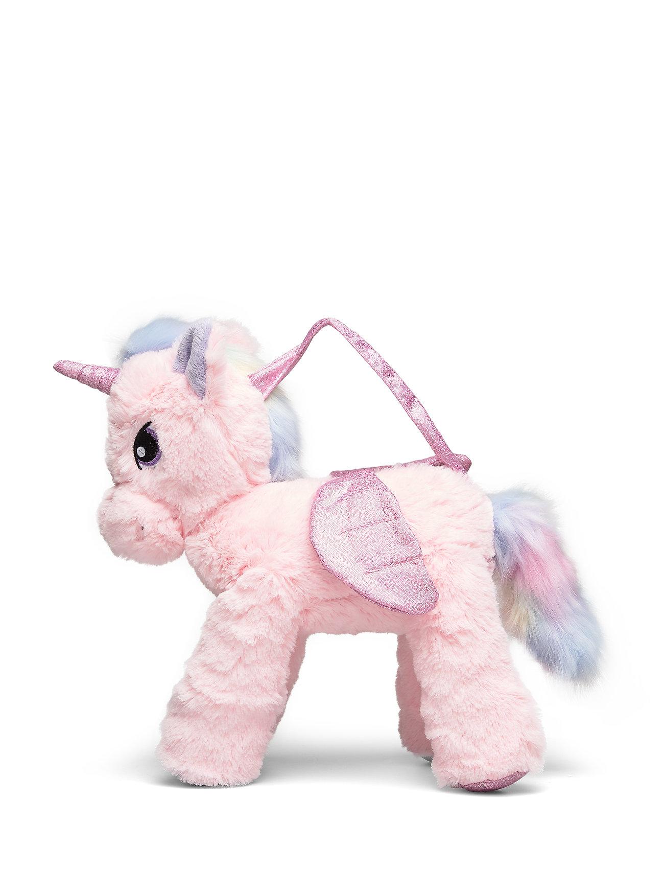 Lindex Bag animal toy - LIGHT DUSTY PINK