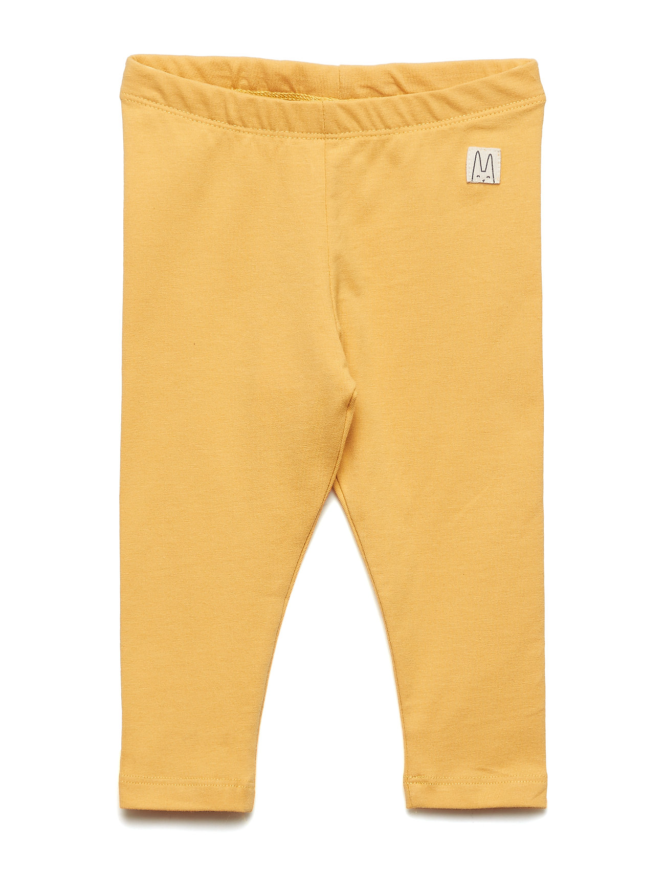 Lindex Jersey leggings - DUSTY YELLOW