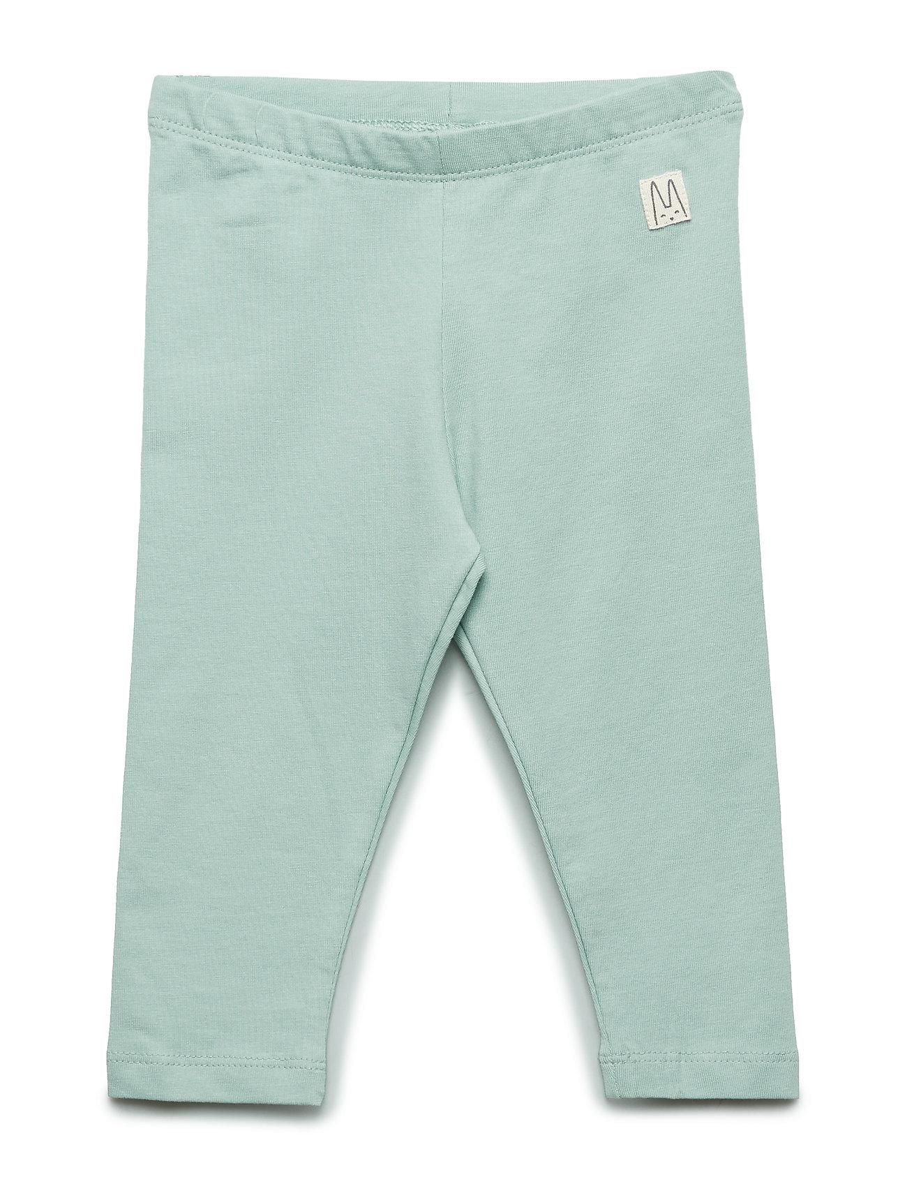 Lindex Jersey leggings - LIGHT DUSTY AQUA