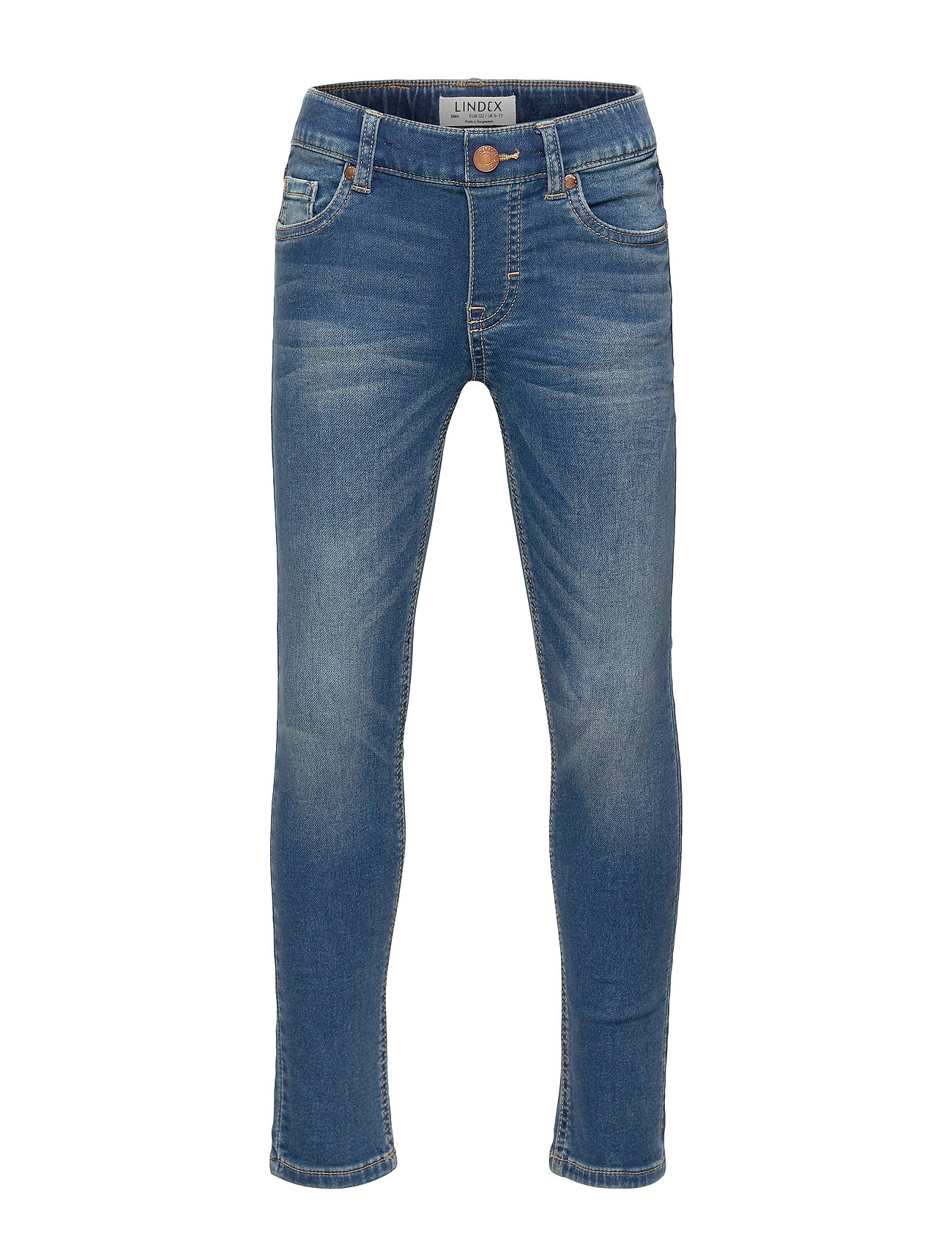 Lindex Trousers denim jersey slim Jim - DENIM
