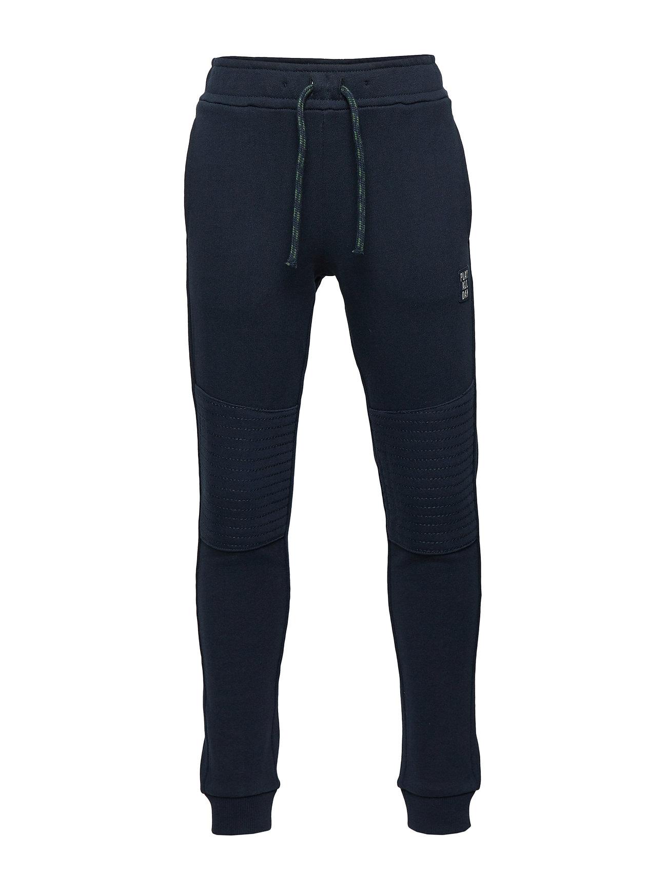 Lindex Sweatpants with reinforced knees - DARK NAVY