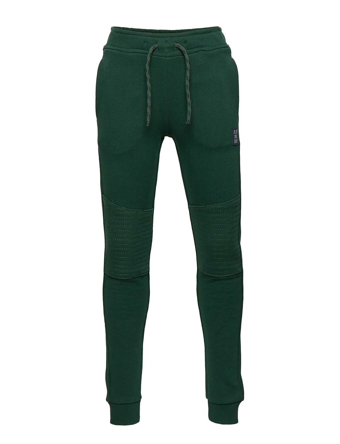 Lindex Sweatpants with reinforced knees - DK GREEN