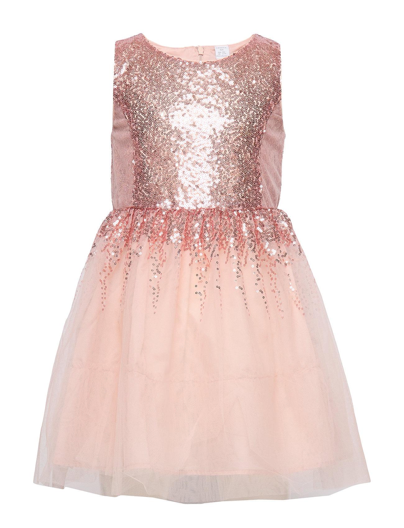 Lindex Dress Agnes - LIGHT DUSTY PINK