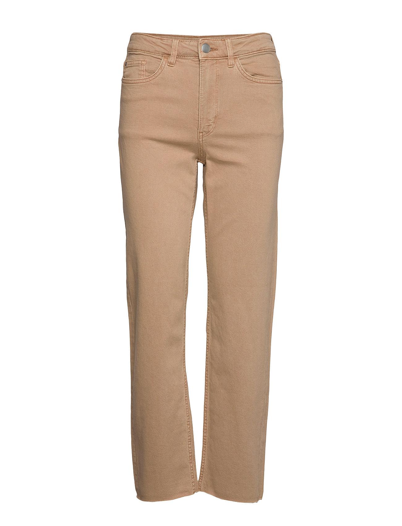 Lindex Denim trousers Nea twill cr - LIGHT BEIGE