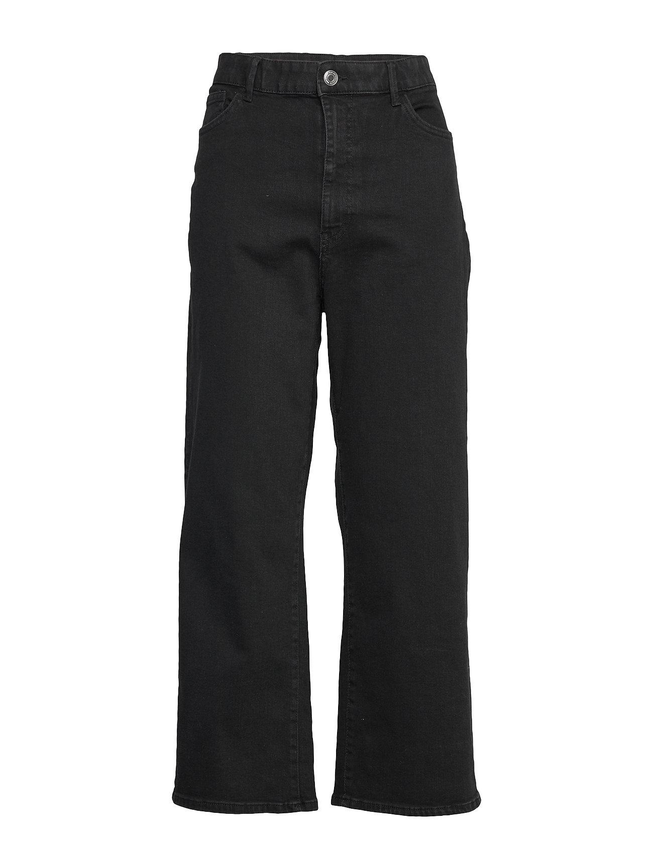 Trousers Denim Hanna Black Vide Jeans Sort Lindex