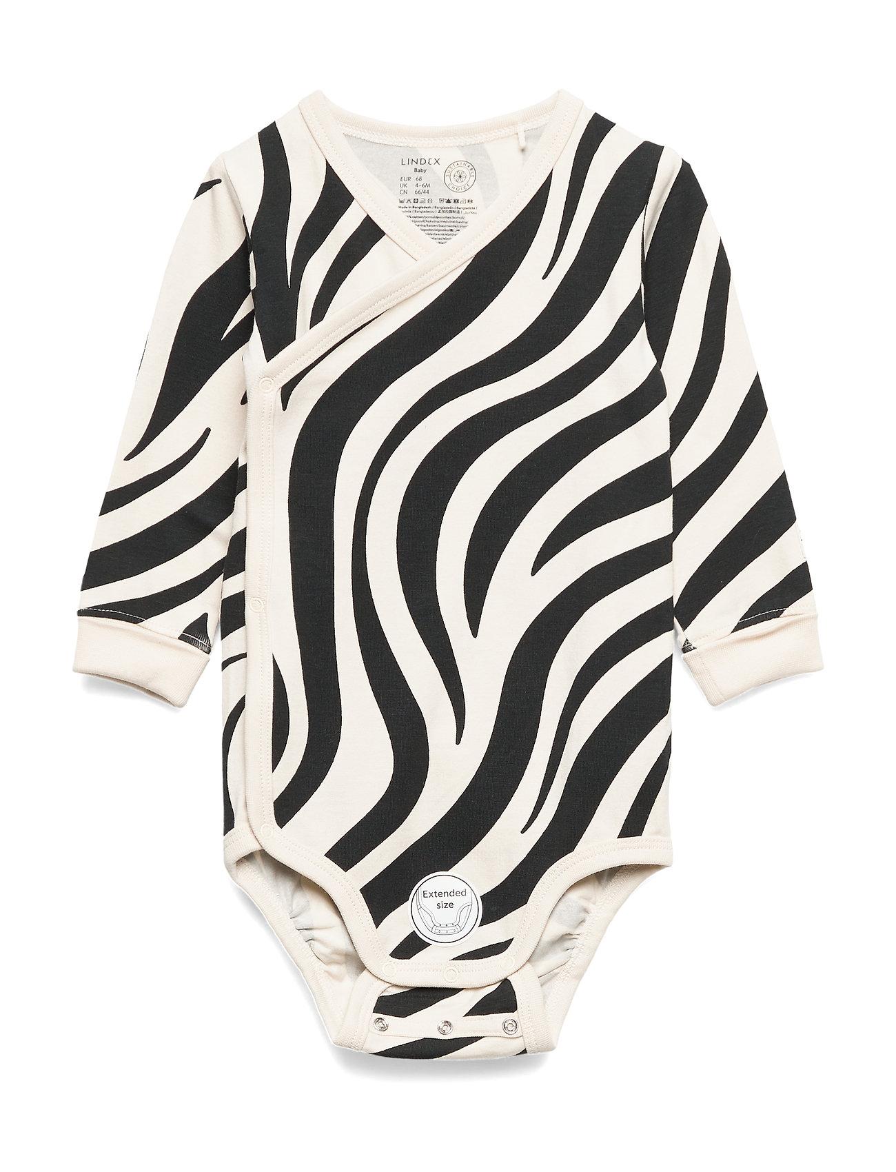Lindex Body Wrap Zebra - LIGHT BEIGE