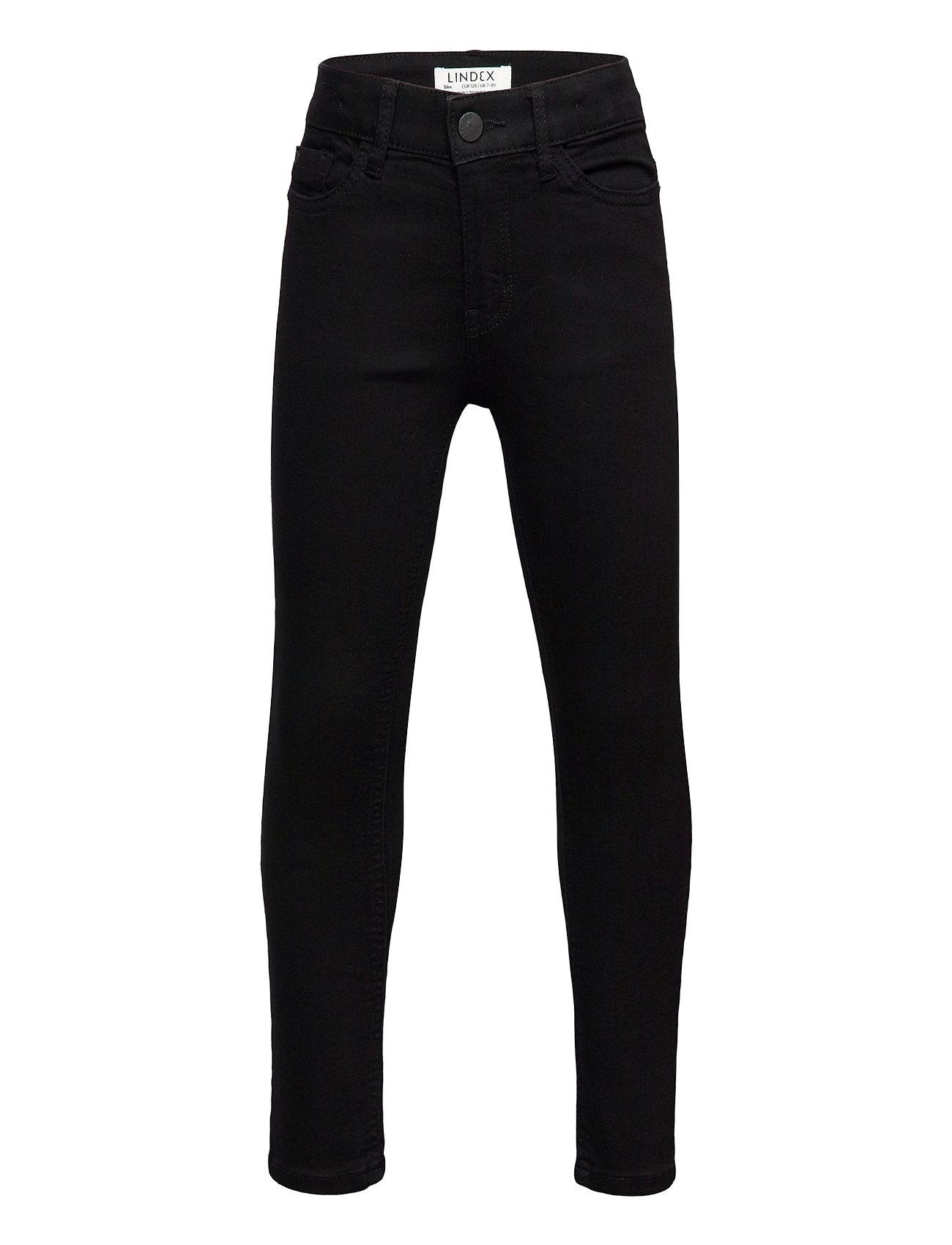 Trousers Denim Selma Black Sli Jeans Sort Lindex