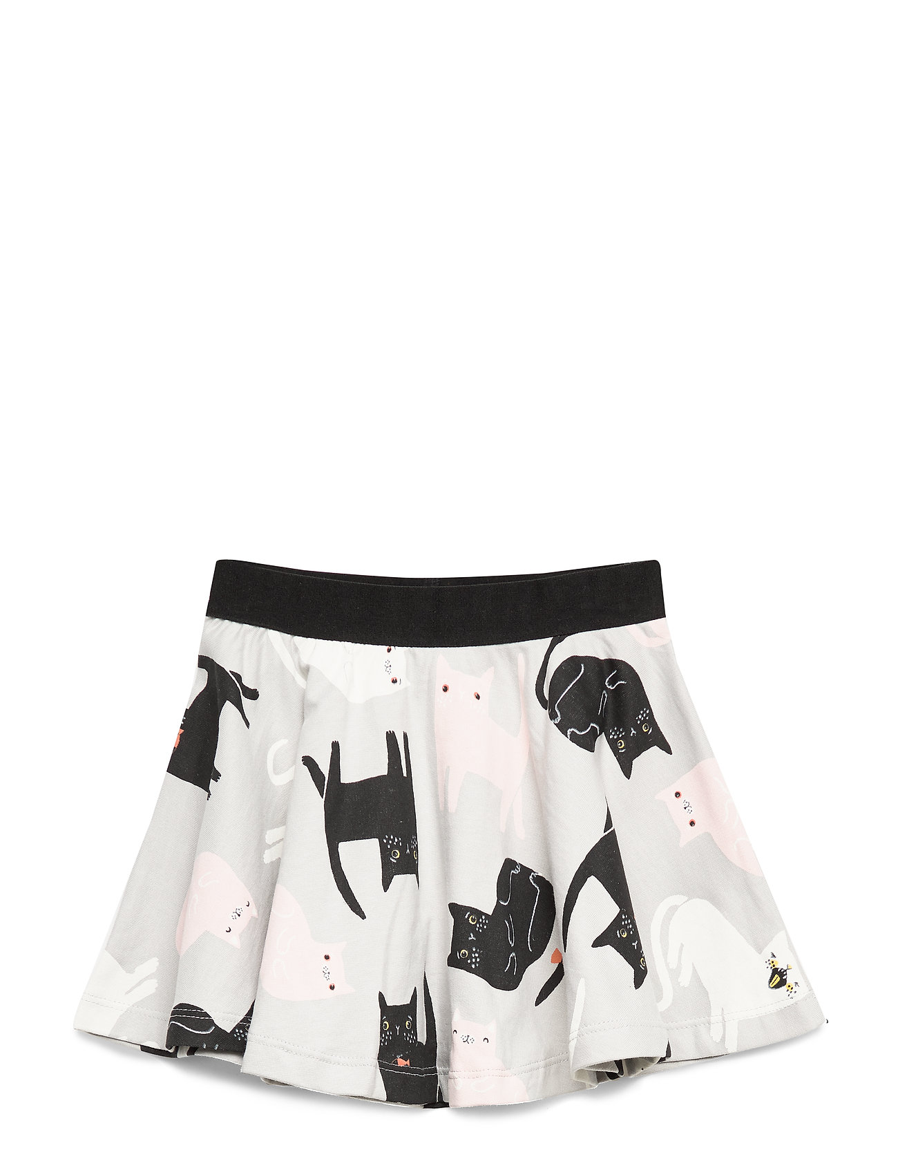 Lindex Skirt ao printed - LIGHT GREY