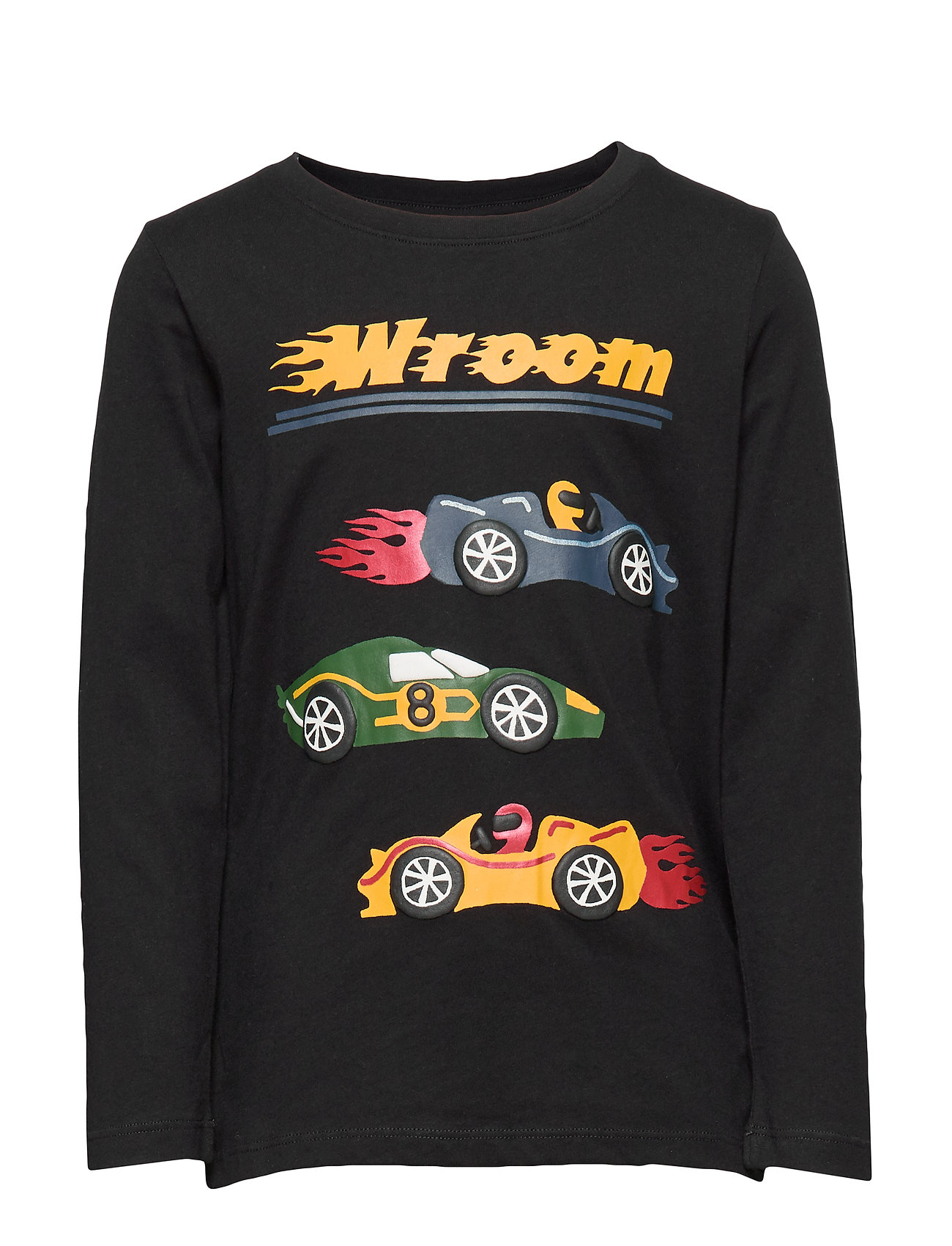 Lindex Top LS Racer cars Placed - OFF BLACK
