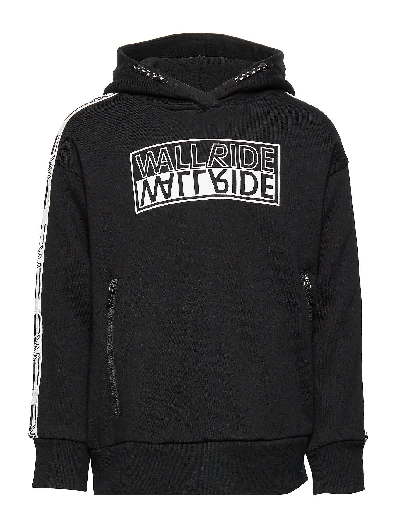 Lindex Sweatshirt hood Wallride - BLACK
