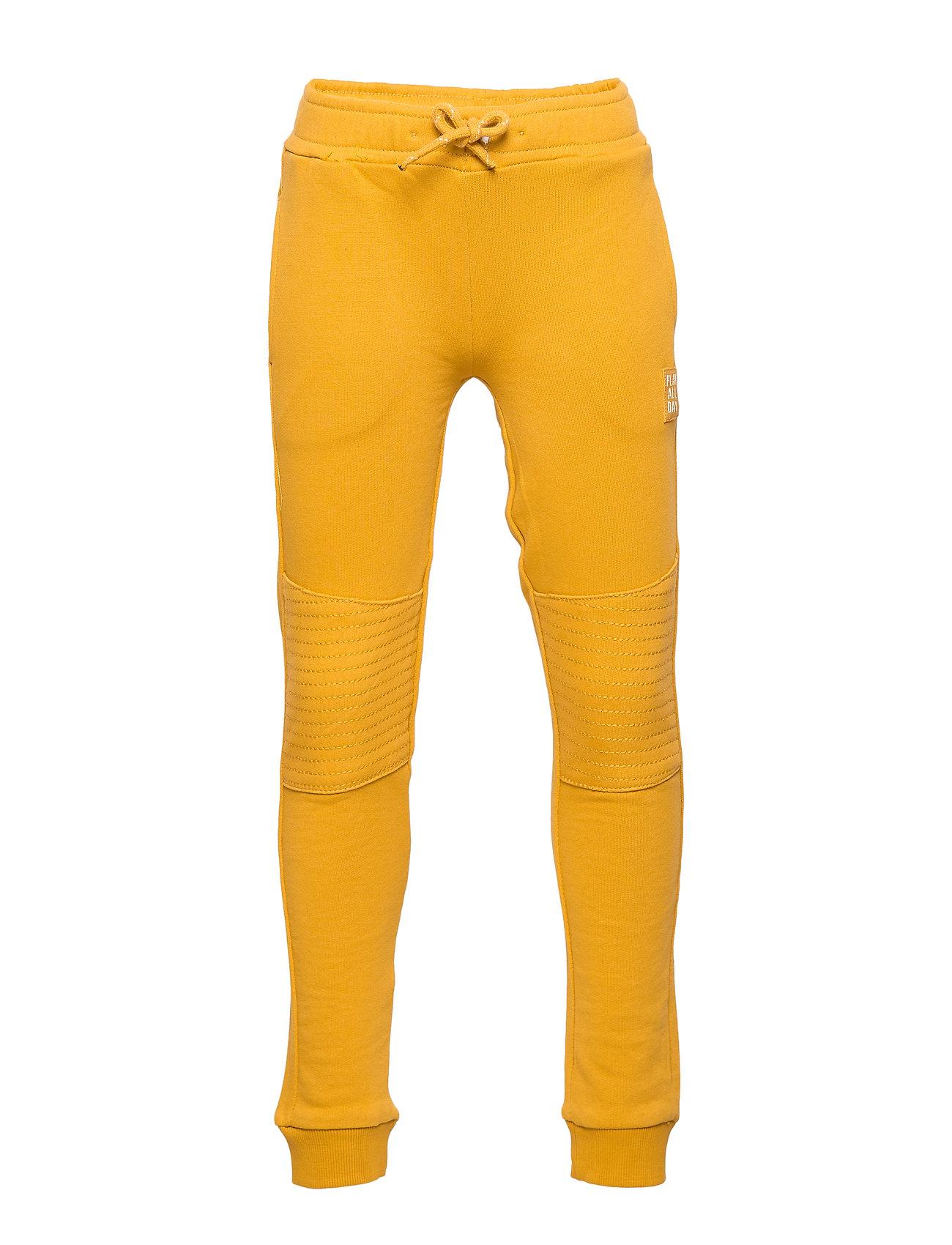 Lindex Trousers essential Knee - DARK DUSTY YELLOW