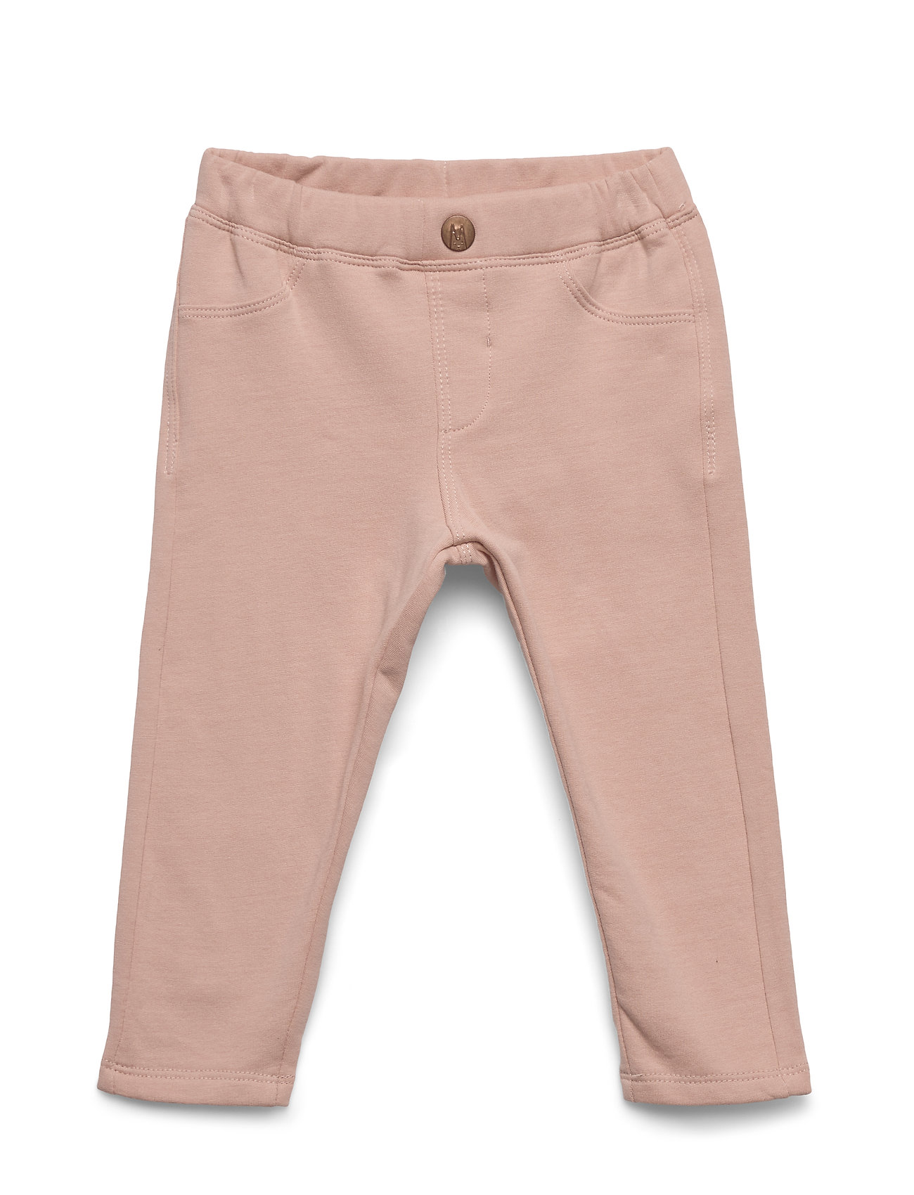 Lindex Treggings jersey solid - DUSTY PINK