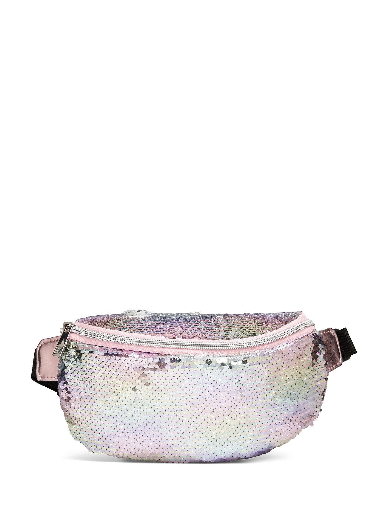 Lindex Bag belly flip sequins - LIGHT PINK