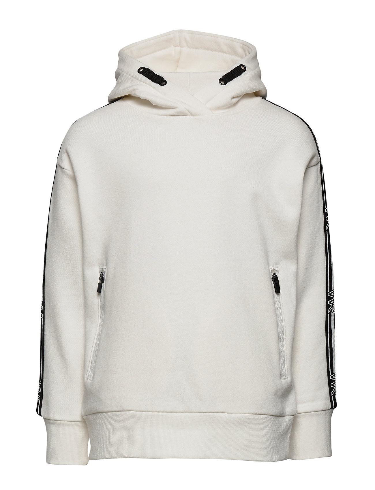 Lindex Sweatshirt hoodie WR white - OFF WHITE