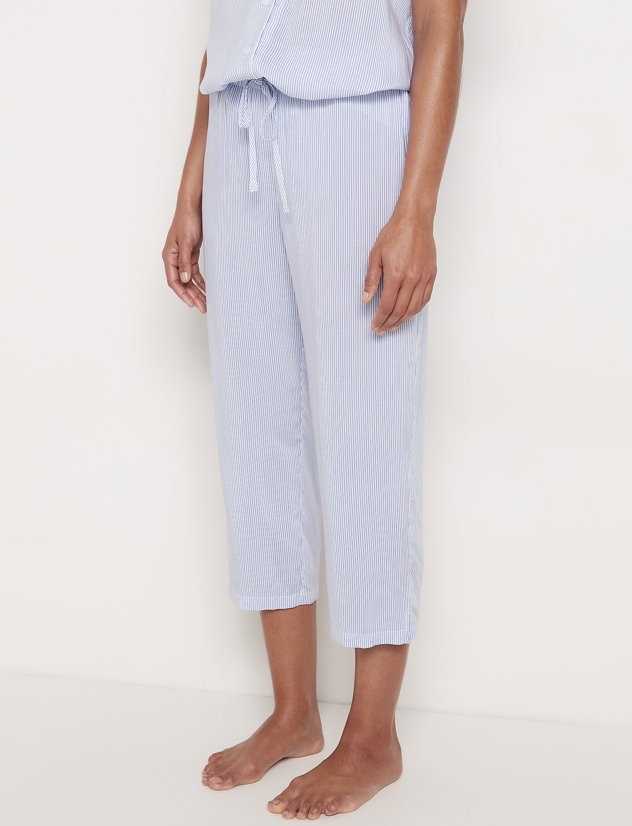 Lindex - Night Trousers Frenchy - doły - blue - 0