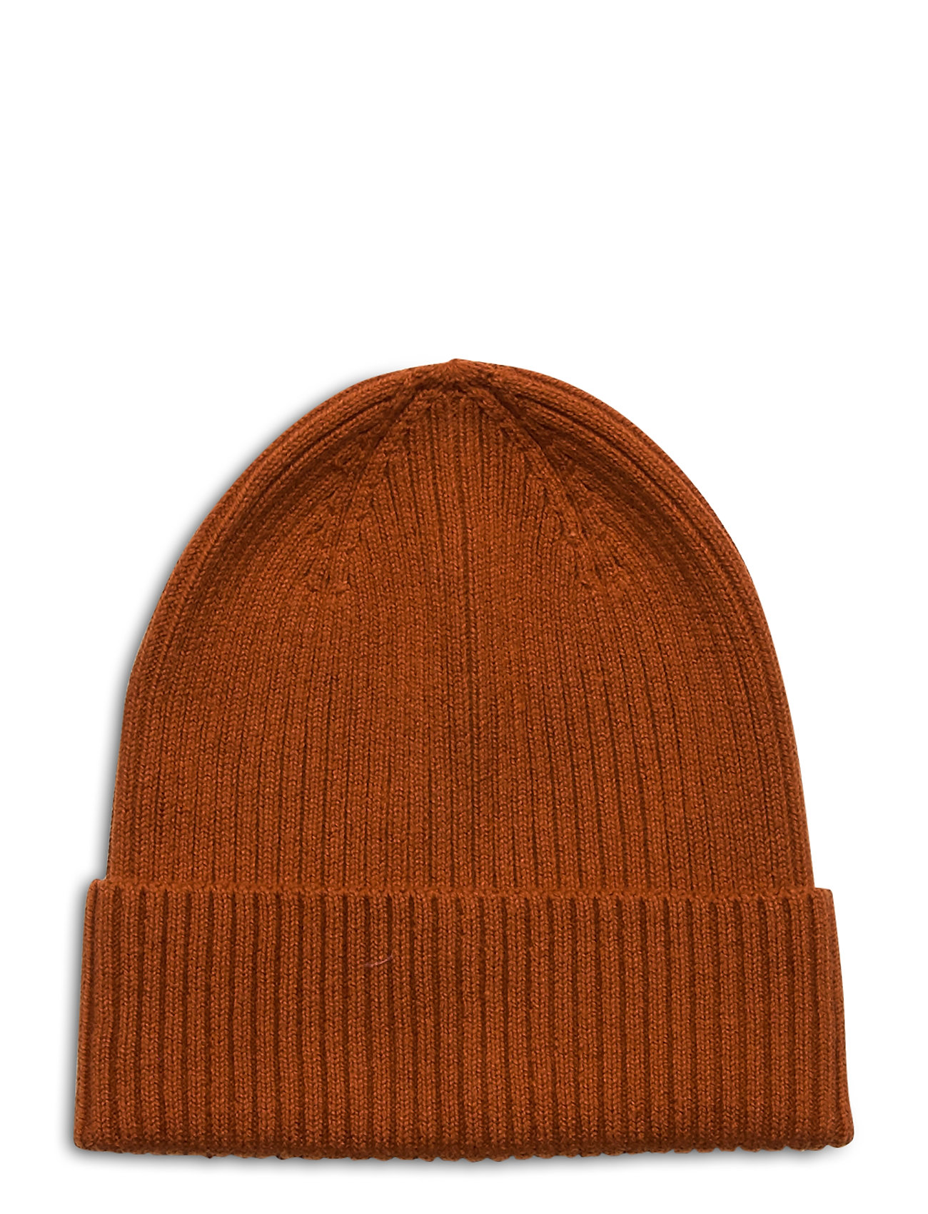 Image of Cap Rib Beanie Sustainable Accessories Headwear Hats Brun Lindex (3448365475)