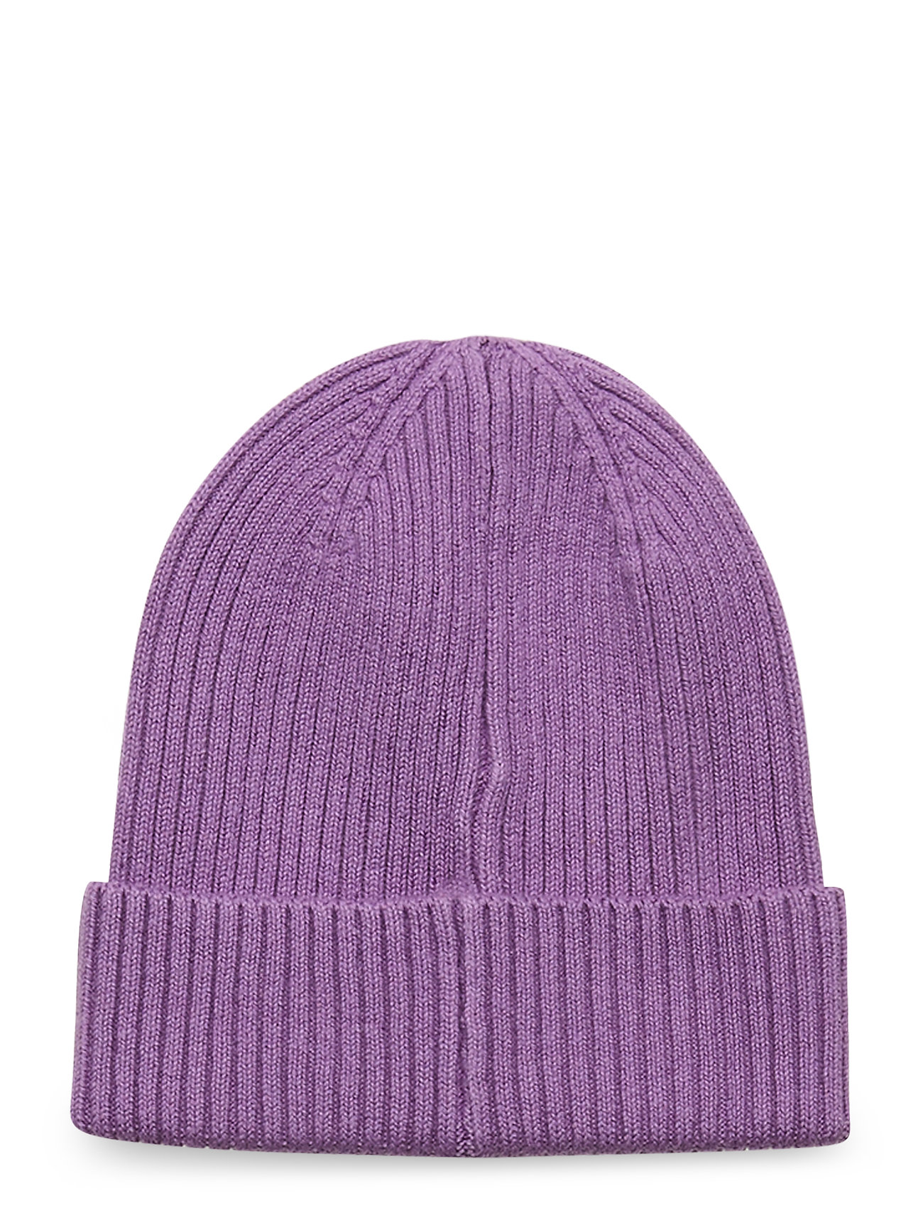Image of Cap Rib Beanie Sustainable Accessories Headwear Hats Lilla Lindex (3442419641)