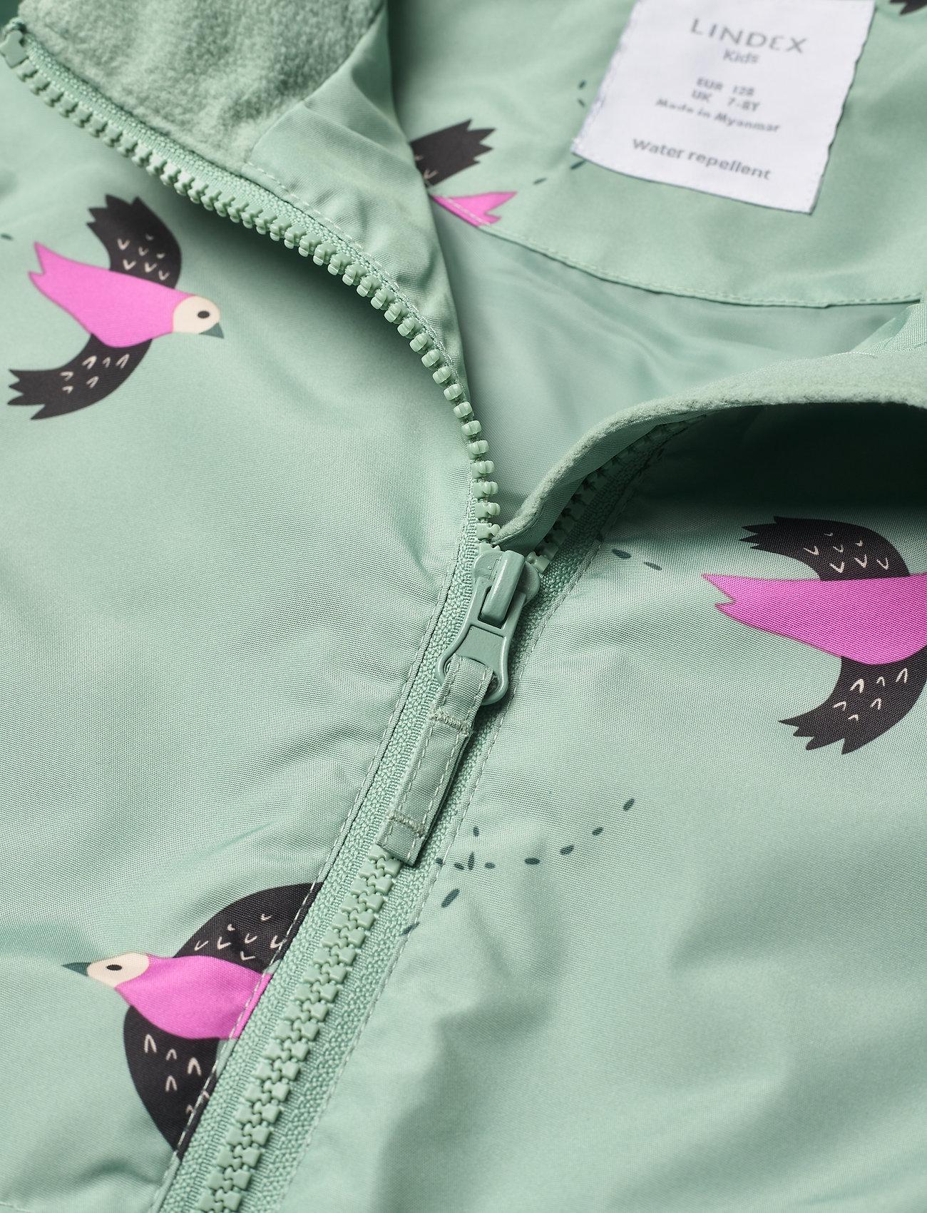 Lindex - Jacket AOP - lette jakker - green - 2