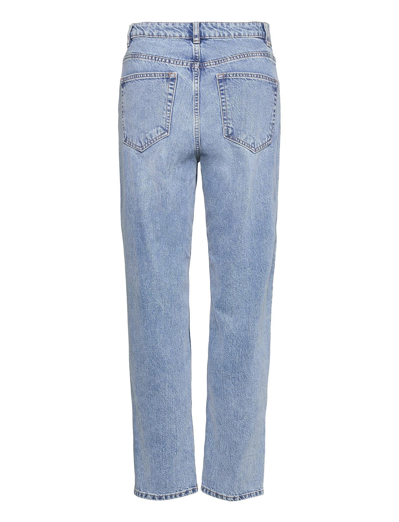 Lindex - Trousers denim Betty fresh blu - mom jeans - blue - 1