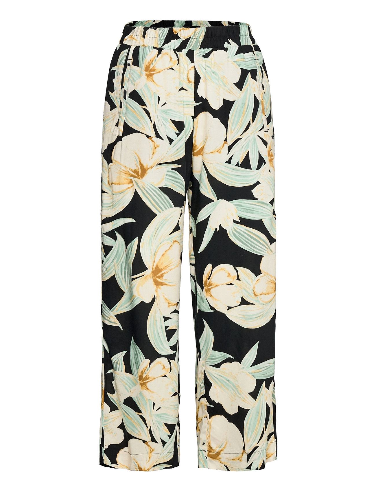 Trousers Bella Aop Casual Bukser Multi/mønstret Lindex