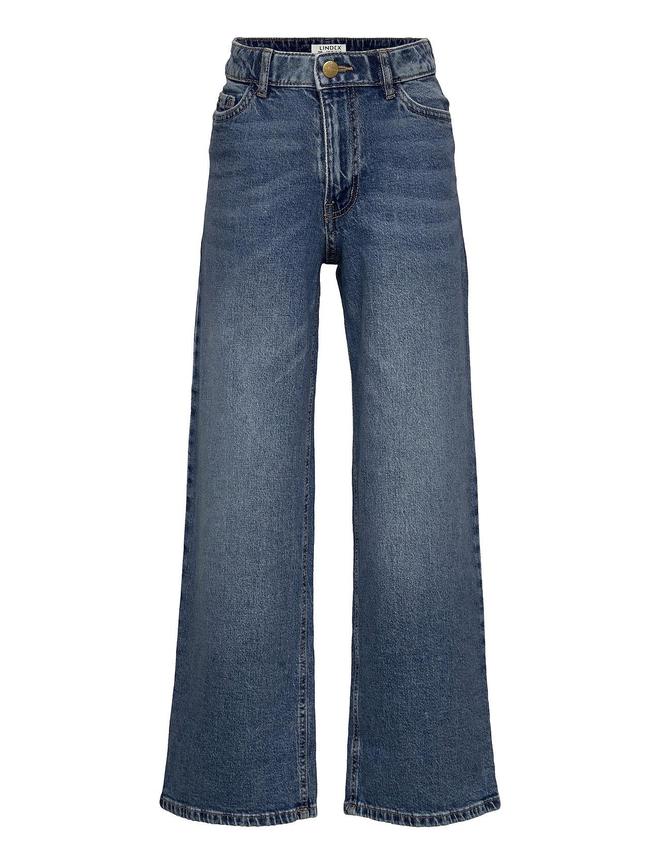 Trousers Denim Viola Blue Extr Jeans Blå Lindex