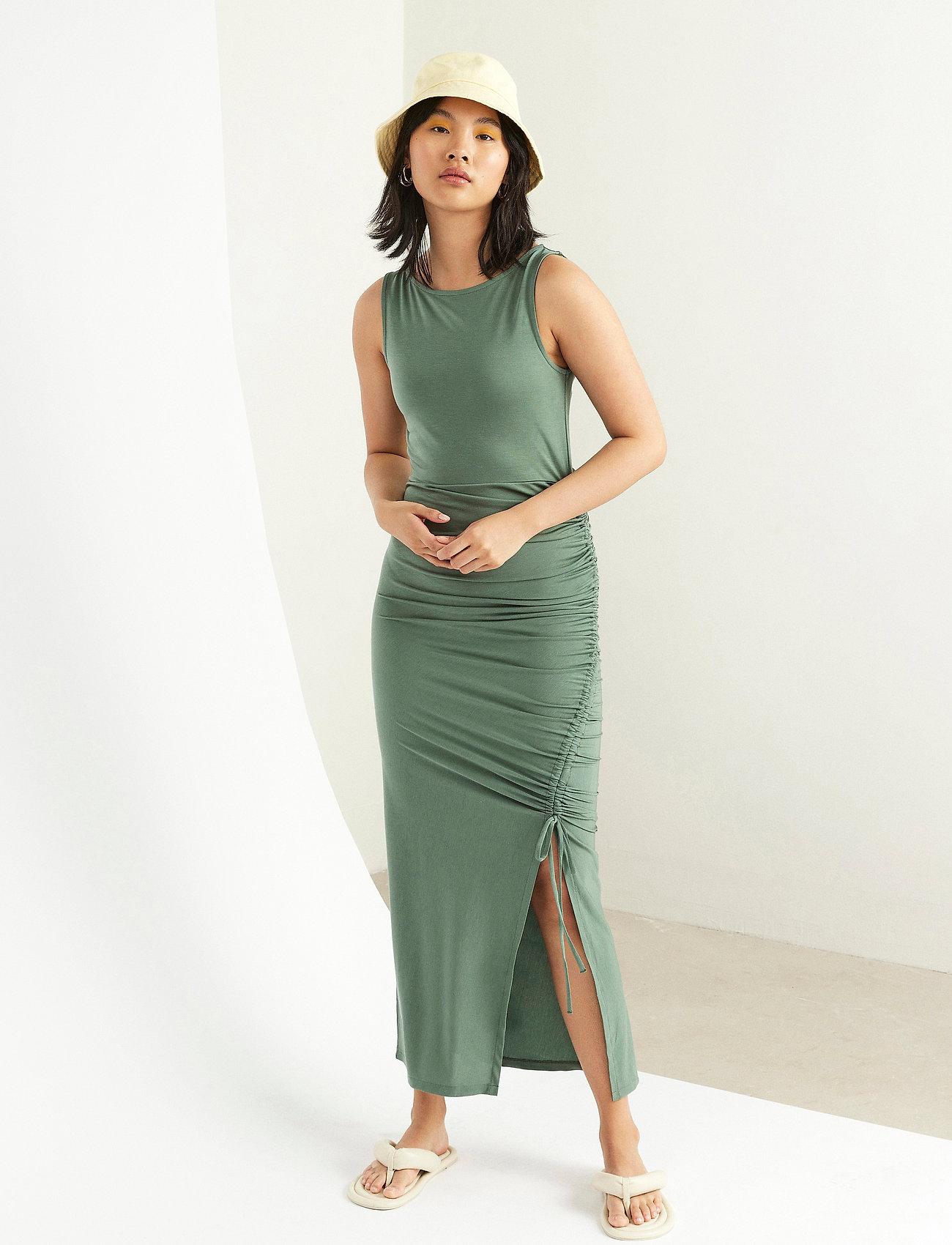 Lindex - Dress Debbie - kveldskjoler - green - 0