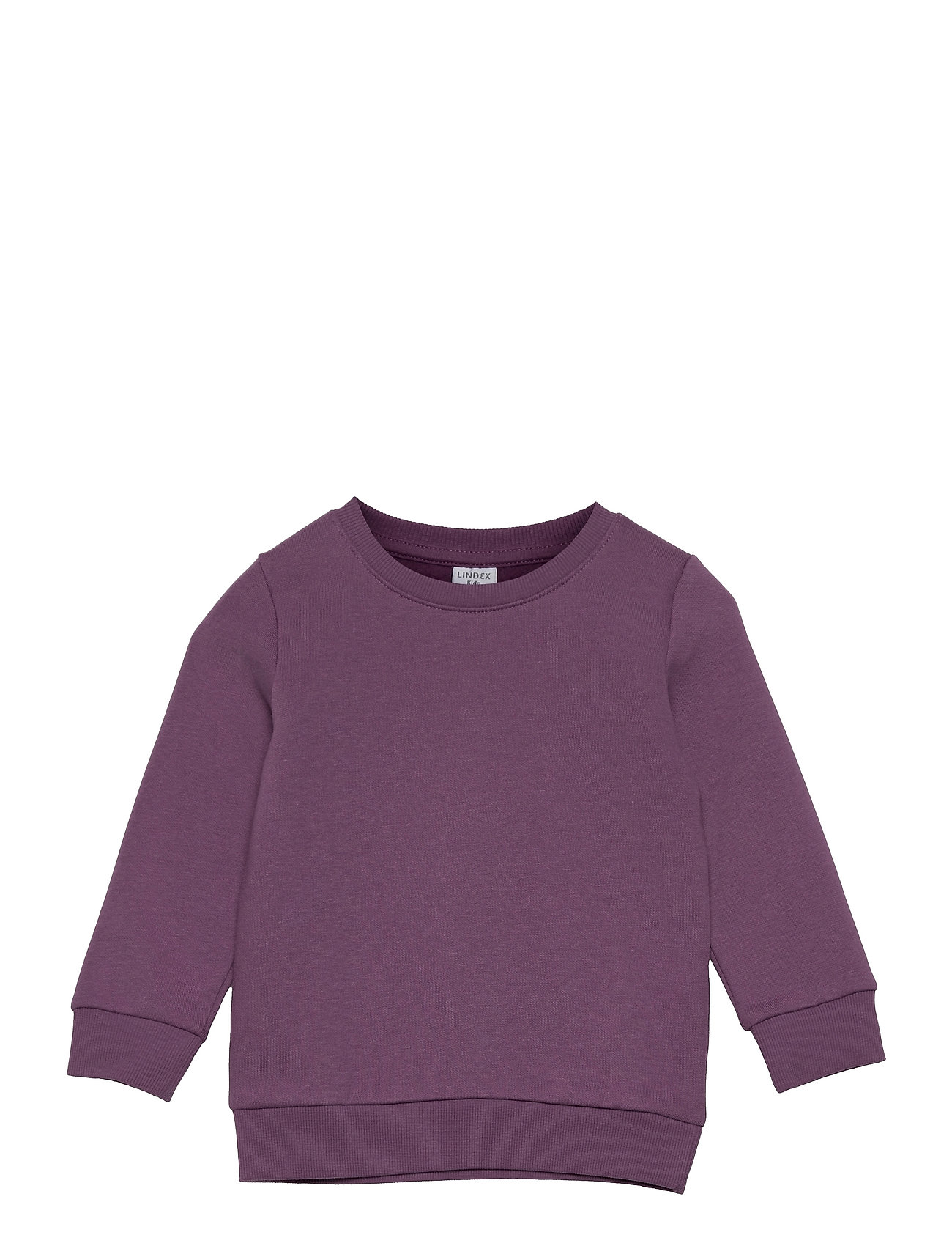 Sweater Basic Sweatshirt Trøje Lilla Lindex