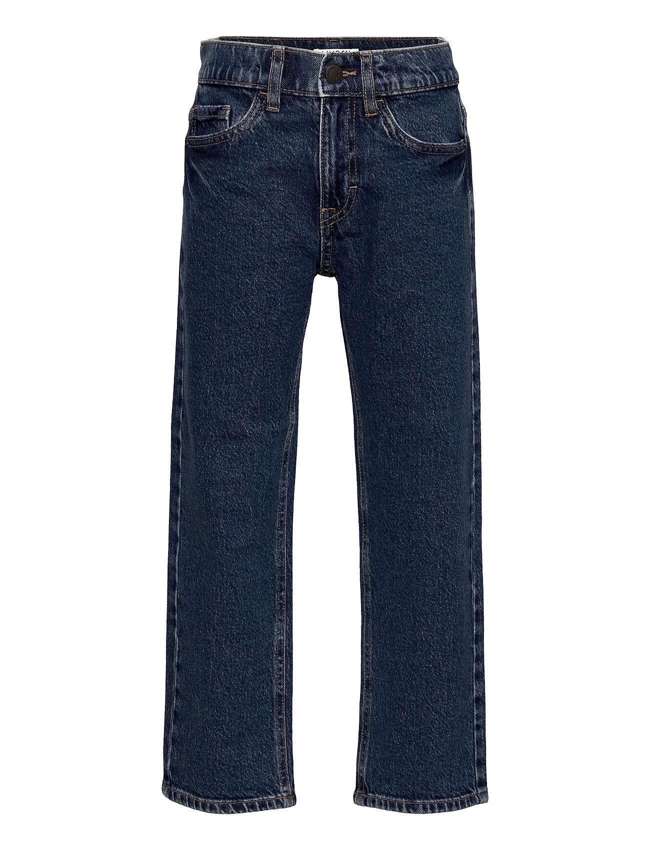 Trousers Denim Vilgot Wide Leg Jeans Blå Lindex